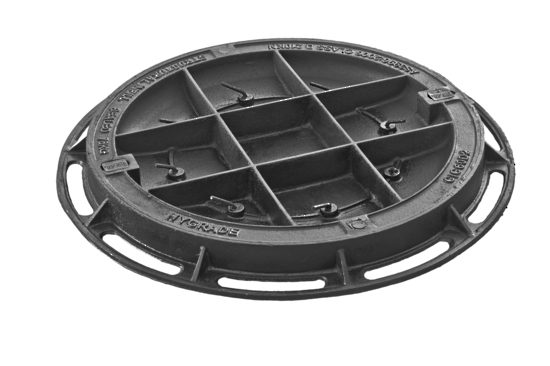 Circular Recessed Infill Cover