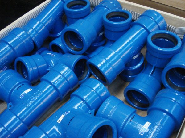 Gillies Ductile Iron Socket Flanged Tees
