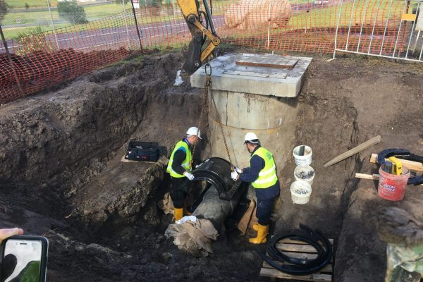 Greenvale Lakes Branch Sewer Repair